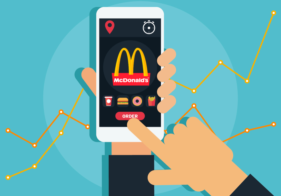 McDonalds third party delivery strategy DoorDash UberEats